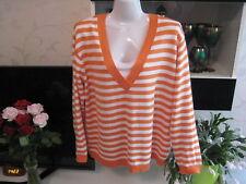 Damen Pullover in Größe 46 Gestreift