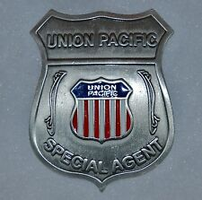 Union Pacific Railroad Special Agent Old West Replica Lawman Badge Deputy PH070