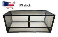 Whole Mesh Reptile Pet Enclosure Lizard Snake Tortoise Cage Terrarium Tank