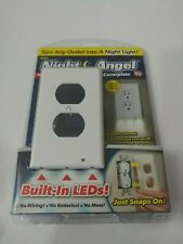 Night Angel Lighted Wall Coverplate - As Seen on TV - New