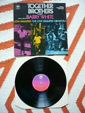 Barry White Love Unlimited Orchestra Together Brothers Vinyl UK 1974 Pye OST LP