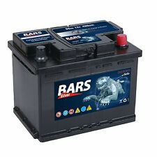 BARS 12V 55 Ah 480A EN AUTOBATTERIE STARTERBATTERIE CALCIUM Technologie NEU