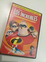 DVD   los increibles de Disney  pixar edicion especial