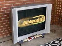 "🕹📺 Vintage Retro Gaming SONY FD Trinitron 36"" WEGA CRT Tube TV KV-36FV300 🕹📺"