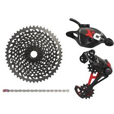 SRAM X01 Eagle 12 Speed Groupset MTB Kit 4 piece , Trigger Shifter , Red