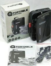 More details for gpo portable fm radio / cassette tape player / recorder earphones