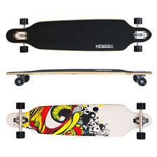 """41"""" Skateboard Longboard Long Street Board Cruiserboard Skate Board Streetsurfer"""