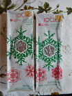 VINTAGE NEW 2 PACKAGES OF CHRISTMAS TREE ICICLES TINSEL METALIZED PLASTIC - USA