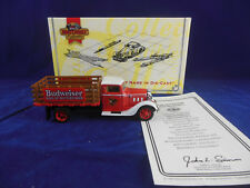 Matchbox Collectibles YYM35253 1933 Diamond T Delivery Truck The Budweiser