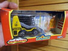 Vintage toys ancien jouet Majorette Majocar Majokit pelleteuse engin travaux