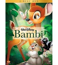 Bambi (DVD, 2011, 2-Disc Set, English)