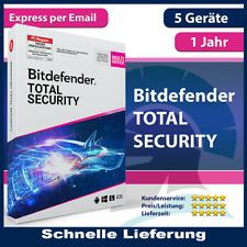Bitdefender Total Security 2021✔️5 Geräte(PC)✔️365 Tage✔️1 Jahr✔️