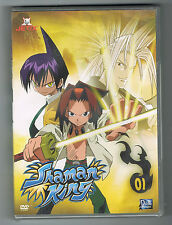 SHAMAN KING - VOLUME 1 - 5 ÉPISODES - DVD NEUF NEW NEU
