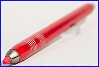 LARGE RED anodized aluminium 5 mm lead Drafting Sketch Pencil POP ART 1960's