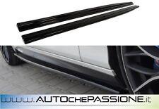 Coppia Splitter minigonne per BMW Serie 1 F20 11>2015 abs lip lame
