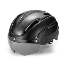 RockBros Black Cycling Riding Sport Helmet with Magnetic Goggle Size 57-62cm