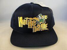 Notre Dame Irish NCAA Vintage Snapback Hat Cap Navy