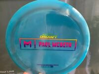 Discraft Paul McBeth First Run Disc Golf Prototype Kong Zeus Proto OOP PDGA