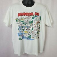 Silver Dollar City Branson Missouri Size XL Double Sided Vintage Shirt 90s USA