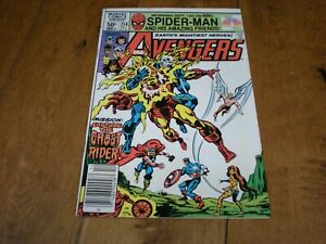The Avengers #214 (1963 1st Series) Marvel Comics 'Ghost Rider Appearance' VF