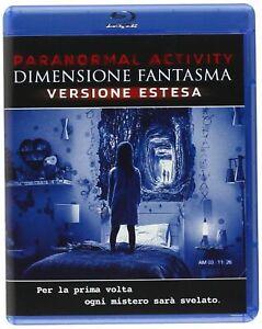 PARANORMAL ACTIVITY 5 - DIMENSIONE FANTASMA - Blu-ray nuovo, bollino noleggio