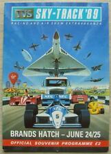 BRANDS HATCH 24/25 Jun 1989 RACING & AIR SHOW EXTRAVAGANZA A4 Official Programme