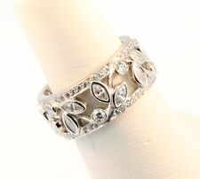 Tiffany & Co. Vine Diamond Band Ring Sz 5.5