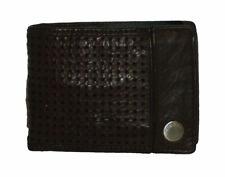 Portafoglio uomo piccolo BLAUER USA mini wallet Men 00478M  portamonete marrone