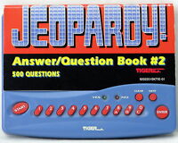 Jeopardy Handheld Game Tiger Electronic Travel Game Answer Question Book #2 1997