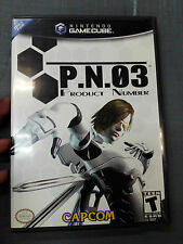 PN03 PRODUCT NUMBER NTSC COMPLETO NINTENDO GAMECUBE NGC