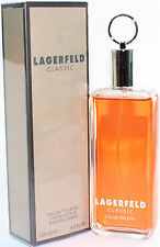 LAGERFELD CLASSIC 4.2 OZ EDT SPRAY FOR MEN NEW IN A BOX BY KARL LAGERFELD