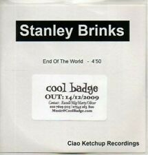 (AB672) Stanley Brinks, End Of The World - DJ CD