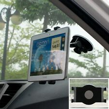 Windshield Car Mount Holder Rotating Suction For Samsung Galaxy Tab A/S/S4/S5/S6