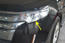 For Ford Edge  Chrome Front Light Headlight Lamp Cover Trim Pcs
