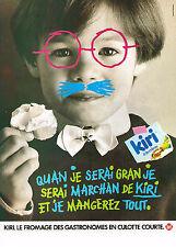 PUBLICITE ADVERTISING    1984    KIRI   fromage à la creme