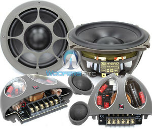 """MOREL HYBRID 502 5.25"""" PRO CAR COMPONENT SPEAKERS MIDS CROSSOVERS TWEETERS NEW"""