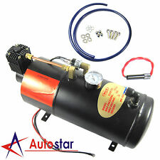 12V DC 150PSI Truck Pickup On Board Air Horn Air Compressor With 3 Liter Tank
