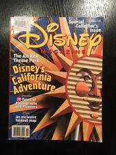Disney Magazine Spring 2001 Collectors Issue Opening Disney California Adventure