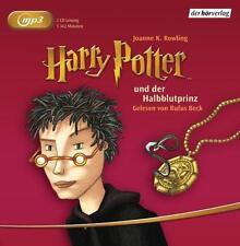 Rowling HARRY POTTER und der Halbblutprinz MP3 HörBuch NEU Band 6 Ungekürzt
