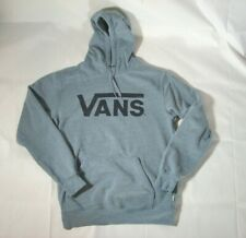 VANS Classic Pullover Hoodie Fleece Blue Medium Men Long Sleeve