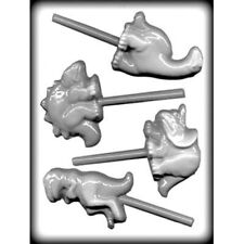 Dinosaur Sucker Hard Candy Mould or Lollipop Mould