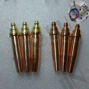1PK Acetylene Propane Nozzle Tip Track Burner CG1-30 Gas Cutting Machine Cutter