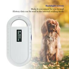 Portable Hand RFID-Leser Scanner Haustier Microchip Reader Tier Chip Leser DE