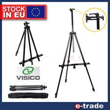 160cm - Black Adjustable Telescopic Aluminium Artist Display Easel + Case /SM2