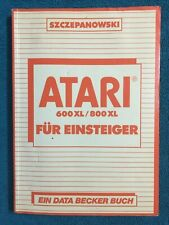 Fachliteratur DATA BECKER Buch - ATARI 600XL / 800XL für Einsteiger