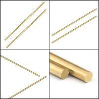 Sutemribor Brass Solid Round Rod Lathe Bar Stock, 1/4 inch in Diameter 14 inch