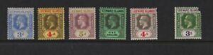 Leeward Islands - 5 Geo. V stamps, mint, cat. $ 56.25