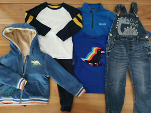 boys 3-4 years bundle autumn winter outfits jumper jacket M&S Bluezoo Cath Kids