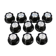 10pcs Potentiometer Knob Bakelite 16mm Rotary Control Turning Knob for Hole 6mm