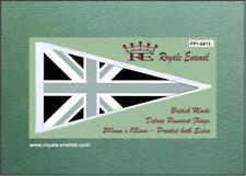 Royale Scooter Antenna Pennant Flag - GREY UNION JACK MOD - FP1.0413